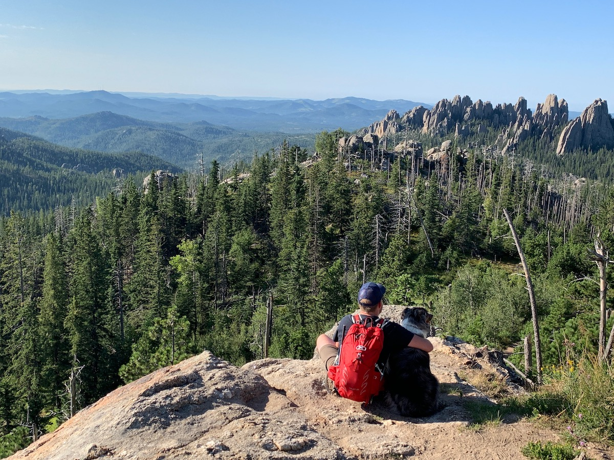 blake and booker - black elk peak, SD
